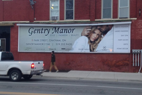 Gentry Manor Billboard