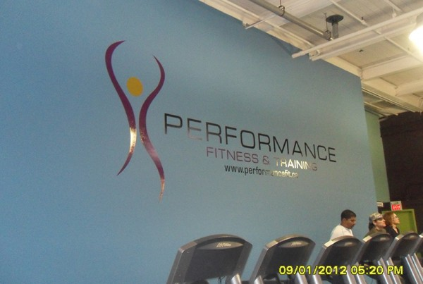 Performance Fitness Wall Decal