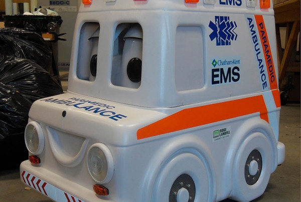 Radio Controlled EMS Ambulance